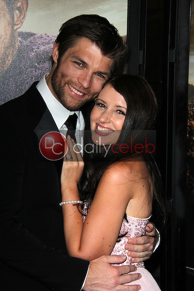 Liam McIntyre, Erin Hasan<br />