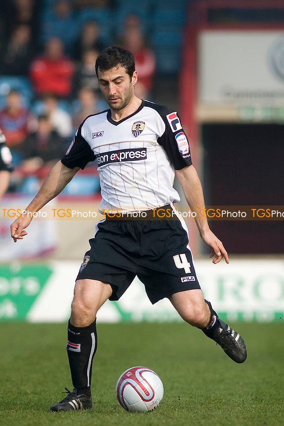 Mike Edwards (Notts County). - Scunthorpe United vs Notts County - nPower League One Football at Glanford Park - 24/03/12 - MANDATORY CREDIT: Mark Hodsman/TGSPHOTO - Self billing applies where appropriate - 0845 094 6026 - contact@tgsphoto.co.uk - NO UNPAID USE.