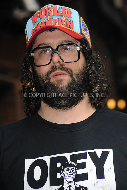 WWW.ACEPIXS.COM . . . . . ....June 16 2009, New York City....Actor Judah Friedlander made an appearance at the 'Late Show With David Letterman' at the Ed Sullivan Theater on June 16, 2009 in New York City.....Please byline: KRISTIN CALLAHAN - ACEPIXS.COM.. . . . . . ..Ace Pictures, Inc:  ..tel: (212) 243 8787 or (646) 769 0430..e-mail: info@acepixs.com..web: http://www.acepixs.com