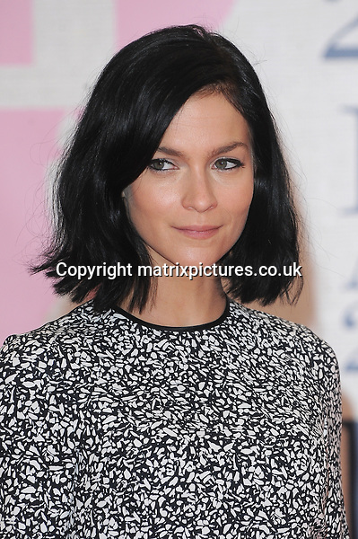 NON EXCLUSIVE PICTURE: PAUL TREADWAY / MATRIXPICTURES.CO.UK<br /> PLEASE CREDIT ALL USES<br /> <br /> WORLD RIGHTS<br /> <br /> DJ Leigh Lezark attending the BRIT Awards 2015 at the O2 Arena, in London.<br /> <br /> FEBRUARY 25th 2015<br /> <br /> REF: PTY 15627