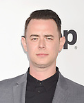 SANTA MONICA, CA - FEBRUARY 25: Actor Colin Hanks attends the 2017 Film Independent Spirit Awards at the Santa Monica Pier on February 25, 2017 in Santa Monica, California.