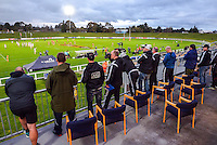 NZ Rugby coaching staff watch the premiership match between Auckland A and Taranaki in the Jack Hobbs Memorial Under-19 Rugby Tournament at Owen Delaney Park in Taupo, New Zealand on Thursday, 15 September 2016. Photo: Dave Lintott / lintottphoto.co.nz