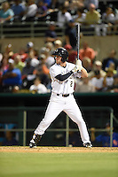 ***Temporary Unedited Reference File***San Antonio Missions second baseman Nelson Ward (2) during a game against the Midland RockHounds on April 22, 2016 at Nelson W. Wolff Municipal Stadium in San Antonio, Texas.  San Antonio defeated Midland 8-4.  (Mike Janes/Four Seam Images)
