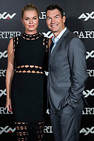 Rebecca Romijn in photocall with Jerry O'Connell for the Carter series in AXN<br /> November 7, 2019. <br /> (ALTERPHOTOS/David Jar)<br /> Photo Alterphotos / Insidefoto ITALY ONLY