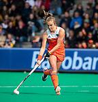 ROTTERDAM - Xan de Waard (Ned)   tijdens de Pro League hockeywedstrijd dames, Netherlands v USA (7-1)  .  COPYRIGHT  KOEN SUYK