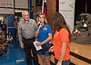 Reliant Energy donates a Yeti generator and school supplies to Energy Institute High School.