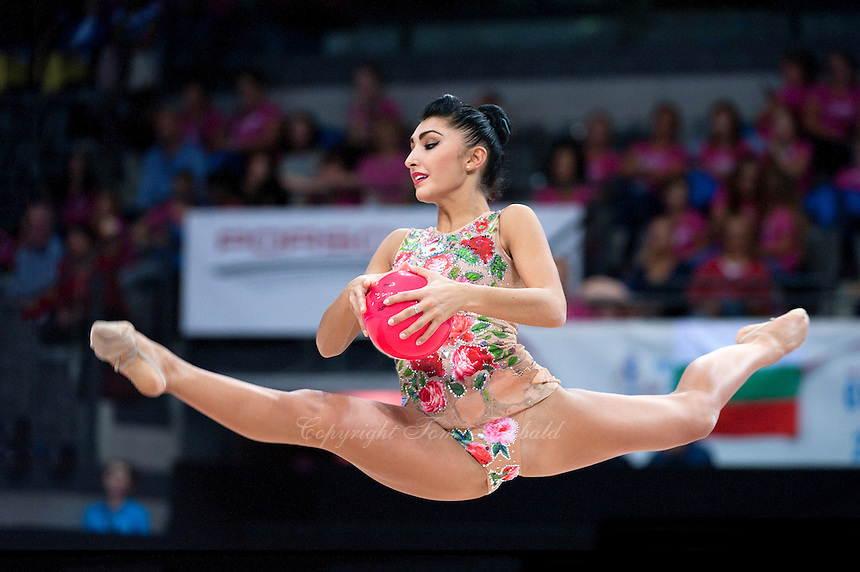 September 11, 2015 - Stuttgart, Germany -  VARVARA FILIOU of Greece performs during AA final at 2015 World Championships.