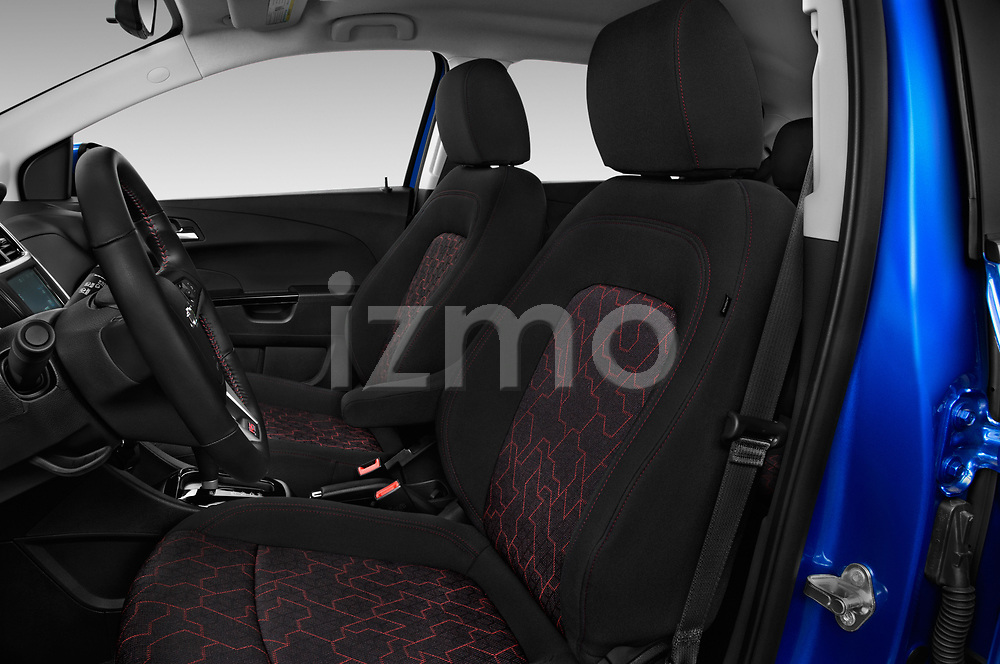 Front seat view of a 2019 Chevrolet Sonic LT RS Select Doors Door Hatchback front seat car photos