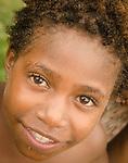 Young face of Lobo Village, Triton Bay, Papua.