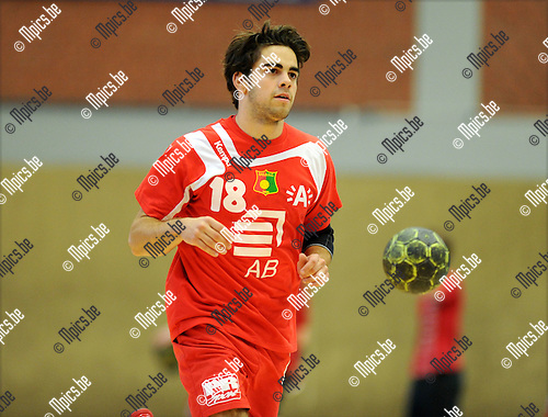 2011-09-10 / Handbal / seizoen 2011-2012 / Sasja Antwerpen / Jeffrey Jacobs..Foto: Mpics