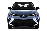 Car photography straight front view of a 2020 Toyota C-HR Club 5 Door SUV