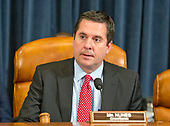 "United States Representative Devin Nunes (Republican of California), Chairman, United States House Permanent Select Committee on Intelligence (HPSCI) calls the hearing to order to listen to testimony from James Comey, Director of the Federal Bureau of Investigation and Mike Rogers, Director of the National Security Agency on the ""Russian Active Measures Investigation"" on Capitol Hill in Washington, DC on Monday, March 20, 2017.<br /> Credit: Ron Sachs / CNP<br /> (RESTRICTION: NO New York or New Jersey Newspapers or newspapers within a 75 mile radius of New York City)"