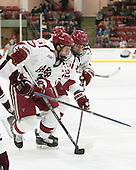Desmond Bergin (Harvard - 37), Tyler Moy (Harvard - 2) -  - The Harvard University Crimson defeated the visiting Colgate University Raiders 7-4 (EN) on Saturday, February 20, 2016, at Bright-Landry Hockey Center in Boston, Massachusetts.