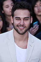 """WESTWOOD, LOS ANGELES, CA, USA - MARCH 18: Ryan Guzman at the World Premiere Of Summit Entertainment's """"Divergent"""" held at the Regency Bruin Theatre on March 18, 2014 in Westwood, Los Angeles, California, United States. (Photo by David Acosta/Celebrity Monitor)"""