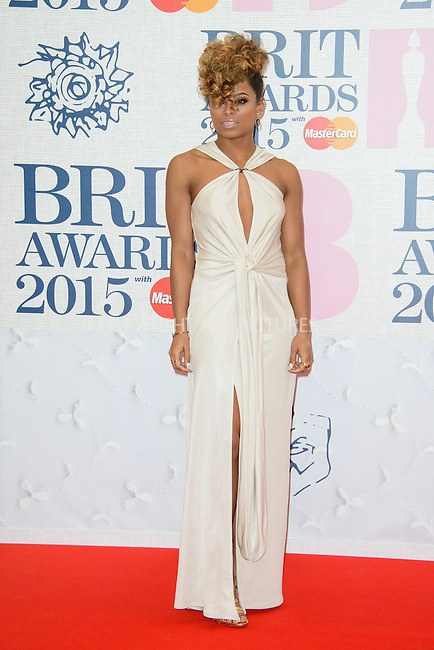 WWW.ACEPIXS.COM<br /> <br /> February 25 2015, London<br /> <br /> Fleur East arriving at the Brit awards 2015 at the O2 Arena on February 25 2015 in London<br /> <br /> By Line: Famous/ACE Pictures<br /> <br /> <br /> ACE Pictures, Inc.<br /> tel: 646 769 0430<br /> Email: info@acepixs.com<br /> www.acepixs.com