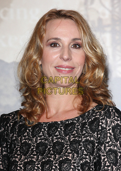 Ann Eleonora Jorgensen.Specsaver Crime Thriller Awards at the Grosvenor House Hotel, Park Lane, London, England, October 7th 2011..portrait headshot lace white black .CAP/ROS.©Steve Ross/Capital Pictures