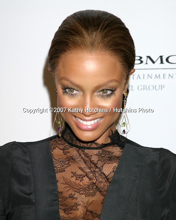 Tyra Banks.Clive Davis Annual Pre-Grammy Party.Beverly Hilton Hotel.Los Angeles, CA.February 10, 2007.©2007 Kathy Hutchins / Hutchins Photo.