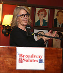 Laura Penn attends Broadway Salutes 10 Years - 2009-2018 at Sardi's on November 13, 2018 in New York City.