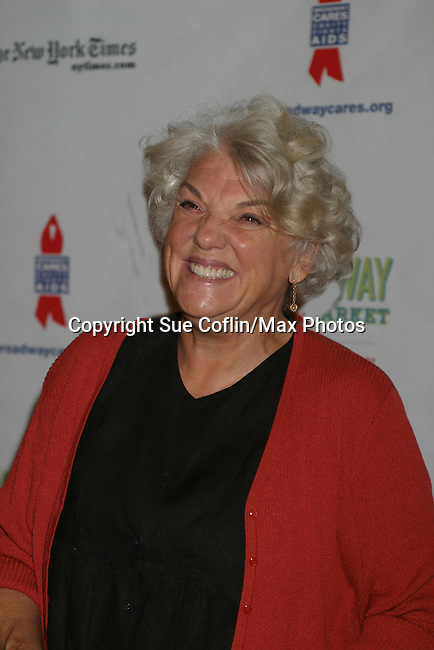 "General Hospital Tyne Daly ""Caroline Beale"" at The 26th Annual Broadway Flea Market and Grand Auction to benefit Broadway Cares/Equity Fights Aids on September 23, 2012 in Shubert Alley and Times Square, New York City, New York.  (Photo by Sue Coflin/Max Photos)"