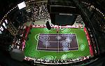 Tenis, FED CUP, world group B.Serbia Vs. Japan.Opening ceremony.Belgrade Arena, Beogradska Arena.Beograd, 07.02.2009. .Photo: © Srdjan Stevanovic/Starsportphoto.com