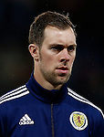 Steven Whittaker of Scotland during the Vauxhall International Challenge Match match at Hampden Park Stadium. Photo credit should read: Simon Bellis/Sportimage