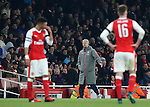 Arsenal's Arsene Wenger looks on during the EFL Cup match at the Emirates Stadium, London. Picture date October 30th, 2016 Pic David Klein/Sportimage