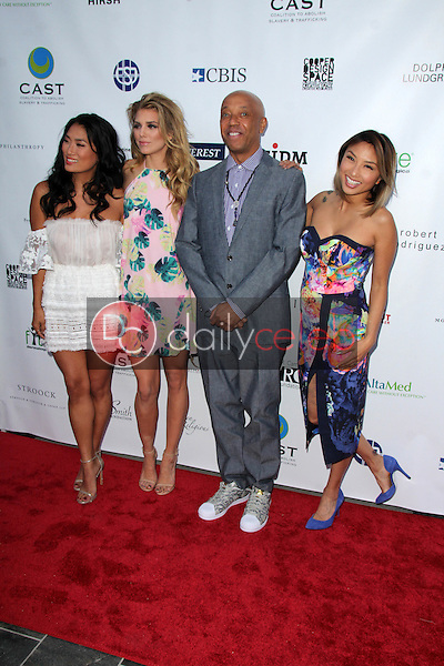 Chloe Flower, AnnaLynne McCord, Russell Simmons, Jeannie Mai<br />