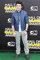 SANTA MONICA, CA, USA - FEBRUARY 15: Mateus Ward at the 4th Annual Cartoon Network Hall Of Game Awards held at Barker Hangar on February 15, 2014 in Santa Monica, California, United States. (Photo by David Acosta/Celebrity Monitor)