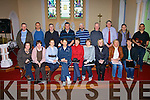 Members of Kilflynn choir at rehearsals on Sunday