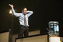 London, UK. 23.10.2013. Kristjan Ingimarsson / Neander present BLAM! at the Peacock Theatre. Picture shows: Kristjan Ingimarsson. Photograph © Jane Hobson.