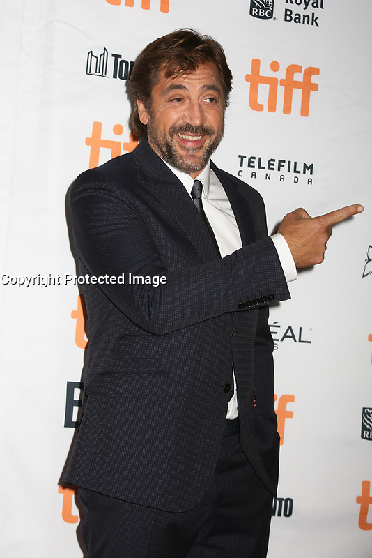 JAVIER BARDEM - RED CARPET OF THE FILM 'MOTHER!' - 42ND TORONTO INTERNATIONAL FILM FESTIVAL 2017. TORONTO, CANADA, 10/09/2017. # FESTIVAL DU FILM DE TORONTO - RED CARPET 'MOTHER!'
