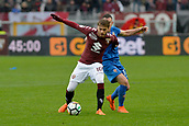 18th March 2018, Stadio Olimpico di Torino, Turin, Italy; Serie A football, Torino versus Fiorentina; Adem Ljajic shields the ball from Jordan Veretout