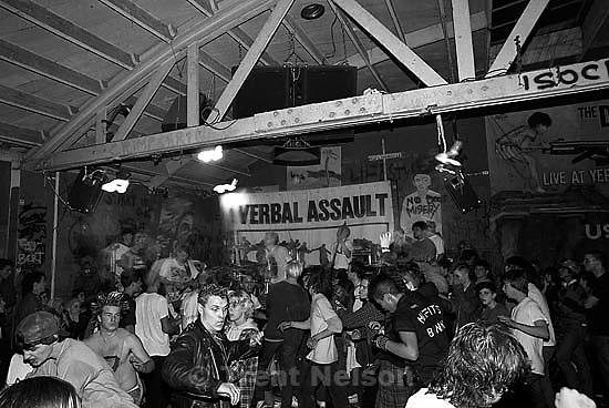 Verbal Assault at Gilman Street.<br />