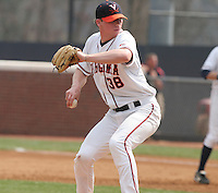 Andrew Carraway of the Virginia Cavaliers vs. the Miami Hurricanes:  March 24th, 2007 at Davenport Field in Charlottesville, VA.  Photo By Mike Janes/Four Seam Images