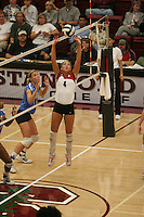 24 September 2005: Bryn Kehoe during Stanford's 3-0 win over UCLA at Maples Pavilion in Stanford, CA.