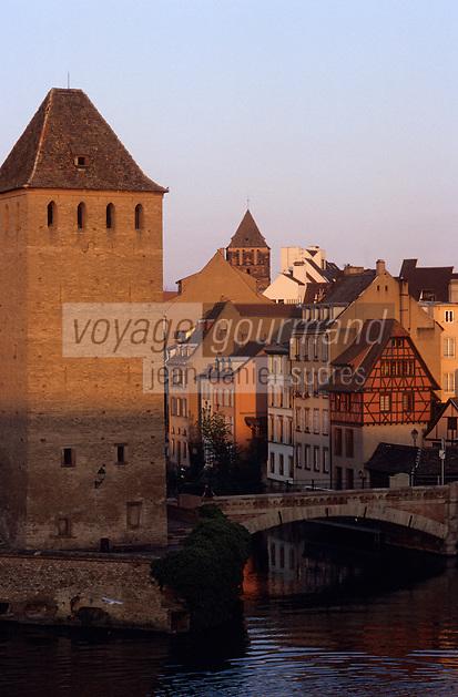 Europe/France/Alsace/67/Bas-Rhin/Strasbourg : La petite France