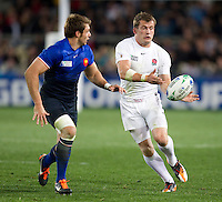 Rugby World Cup Auckland  England v France  Quarter Final 2 - 08/10/2011.MARK CUETO  (England) .Photo Frey Fotosports International/AMN Images