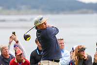 Jason Dufner (USA) watches his tee shot on 13 during round 2 of the 2019 US Open, Pebble Beach Golf Links, Monterrey, California, USA. 6/14/2019.<br /> Picture: Golffile | Ken Murray<br /> <br /> All photo usage must carry mandatory copyright credit (© Golffile | Ken Murray)