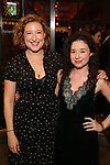Sophie Von Haselberg and Sarah Steele attend the Broadway Opening Night performance of The Roundabout Theatre Company production of 'Time and The Conways'  on October 10, 2017 at the American Airlines Theatre in New York City.