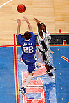Kentucky guard Patrick Sparks (22) makes a pass over Connecticut guard Craig Austrie (24).  Connecticut defeated Kentucky 87-83 in the second round of the NCAA Tournament  at the Wachovia Center in Philadelphia, Pennsylvania on March 19, 2006.