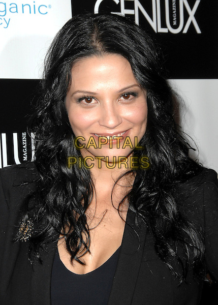 NAVI RAWAT .Genlux Magazine's BritWeek Designer Of The Year Fashion Show & Awards held At The Pacific Design Center, West Hollywood, California, USA, .2nd May 2009..portrait headshot black.CAP/ADM/KB.©Kevan Brooks/Admedia/Capital Pictures