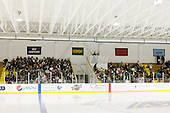 Over 800 children attended the game as a school outing. - The Merrimack College Warriors defeated the visiting Sweden Under 20 team 4-1 on Tuesday, November 2, 2010, at Lawler Arena in North Andover, Massachusetts.