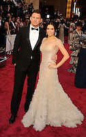 WWW.BLUESTAR-IMAGES.COM   Actors Channing Tatum (L) and Jenna Dewan-Tatum attend the 86th Annual Academy Awards held at Hollywood &amp; Highland Center on March 2, 2014 in Hollywood, California.<br /> Photo: BlueStar Images/OIC jbm1005  +44 (0)208 445 8588