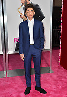 LOS ANGELES, CA. February 11, 2019: Asher Angel at the premiere of &quot;Isn't It Romantic&quot; at The Theatre at Ace Hotel.<br /> Picture: Paul Smith/Featureflash