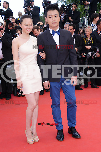 """Guan Yue and Tong Daweiattending the """"De Rouille et D'os"""" Premiere during the 65th annual International Cannes Film Festival in Cannes, 17th May 2012...Credit: Timm/face to face /MediaPunch Inc. ***FOR USA ONLY***"""
