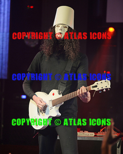 FORT LAUDERDALE FL - MAY 28: Buckethead performs at The Culture Room on May 28, 2016 in Fort Lauderdale, Florida. : Credit Larry Marano © 2016