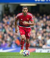 Adrian Mariappa of Watford during the Premier League match between Chelsea and Watford at Stamford Bridge, London, England on 21 October 2017. Photo by Andy Rowland.