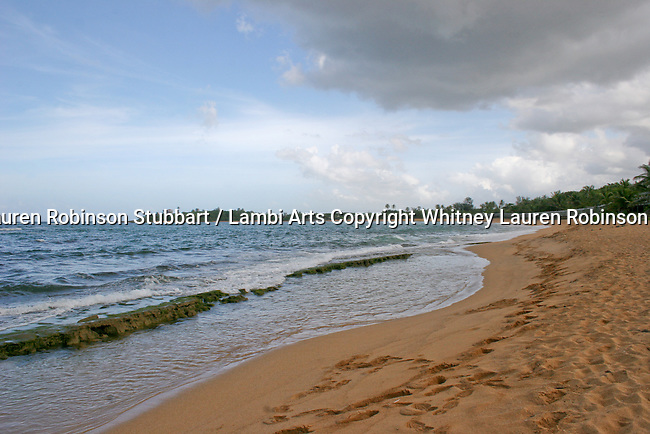 2007 Copyright  Whitney Lauren Robinson Stubbart / Lambi Arts Breathtaking Scenic Photography WLRS Puerto Rico 2007,  Garita, fort San Felipe del Morro, Foliage, Ocean, Beaches, landmarks, Ponce Cathedral, Parque de Bombas, Evening on the beach, San Juan, Palm trees on the peninsula, sunsets, etc.