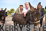 Ciaran Goodwin and Patrick O'Sheaat Camp Sheep Fair on Monday.