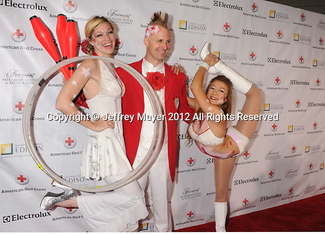 SANTA MONICA, CA - APRIL 21: Performers attend American Red Cross Annual Red Tie Affair at Fairmont Miramar Hotel on April 21, 2012 in Santa Monica, California.